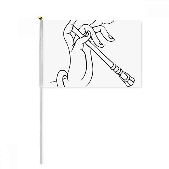 Waving Flag Drawing