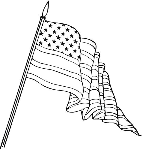 474x497 Like @only Coloring Pages American Flag Coloring Page