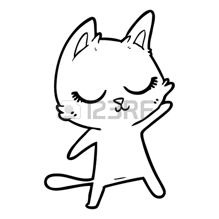 450x450 Waving Cat Stock Photos. Royalty Free Business Images