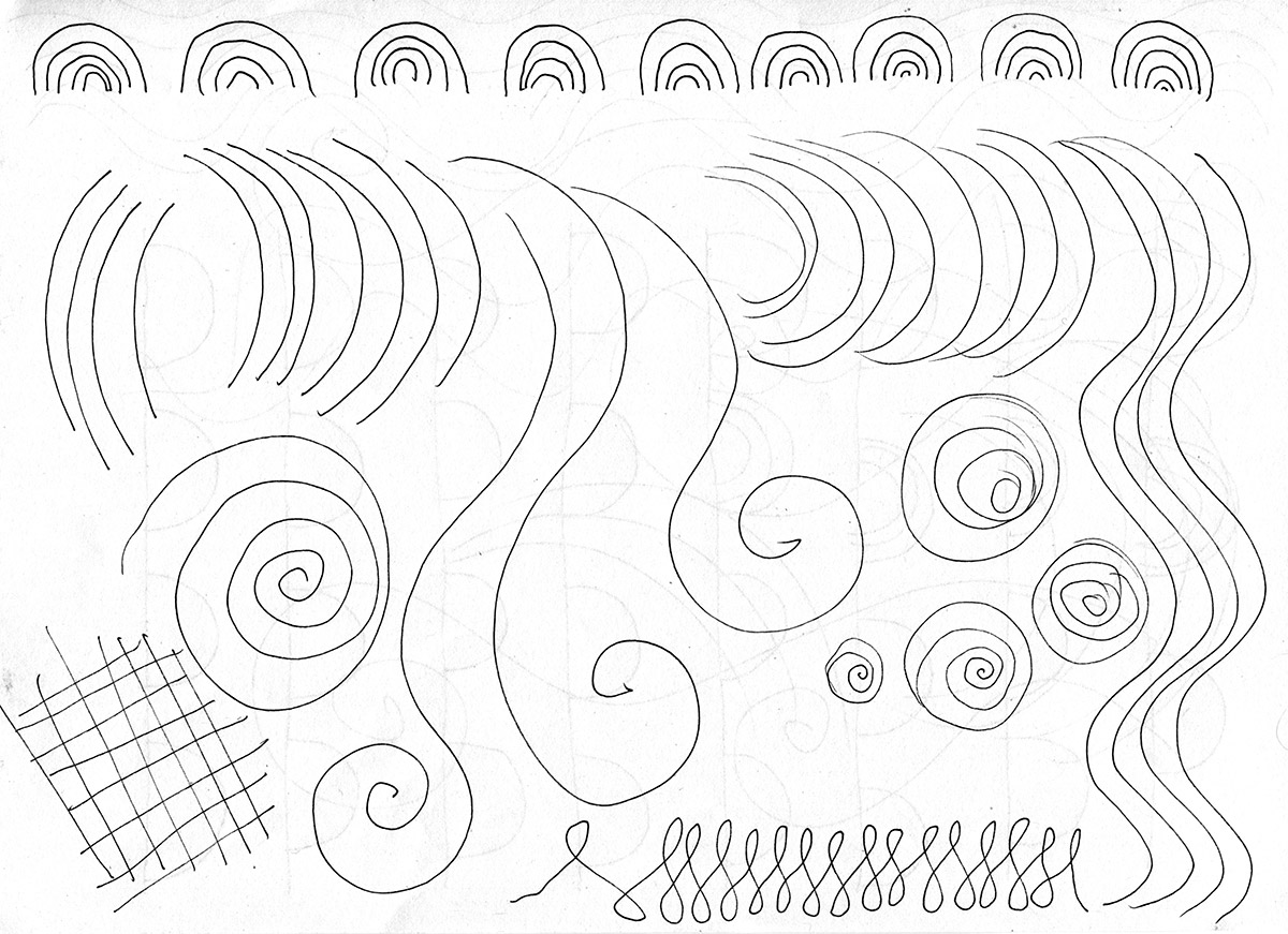 1200x871 How To Draw Beautiful Curves And Create Patterns