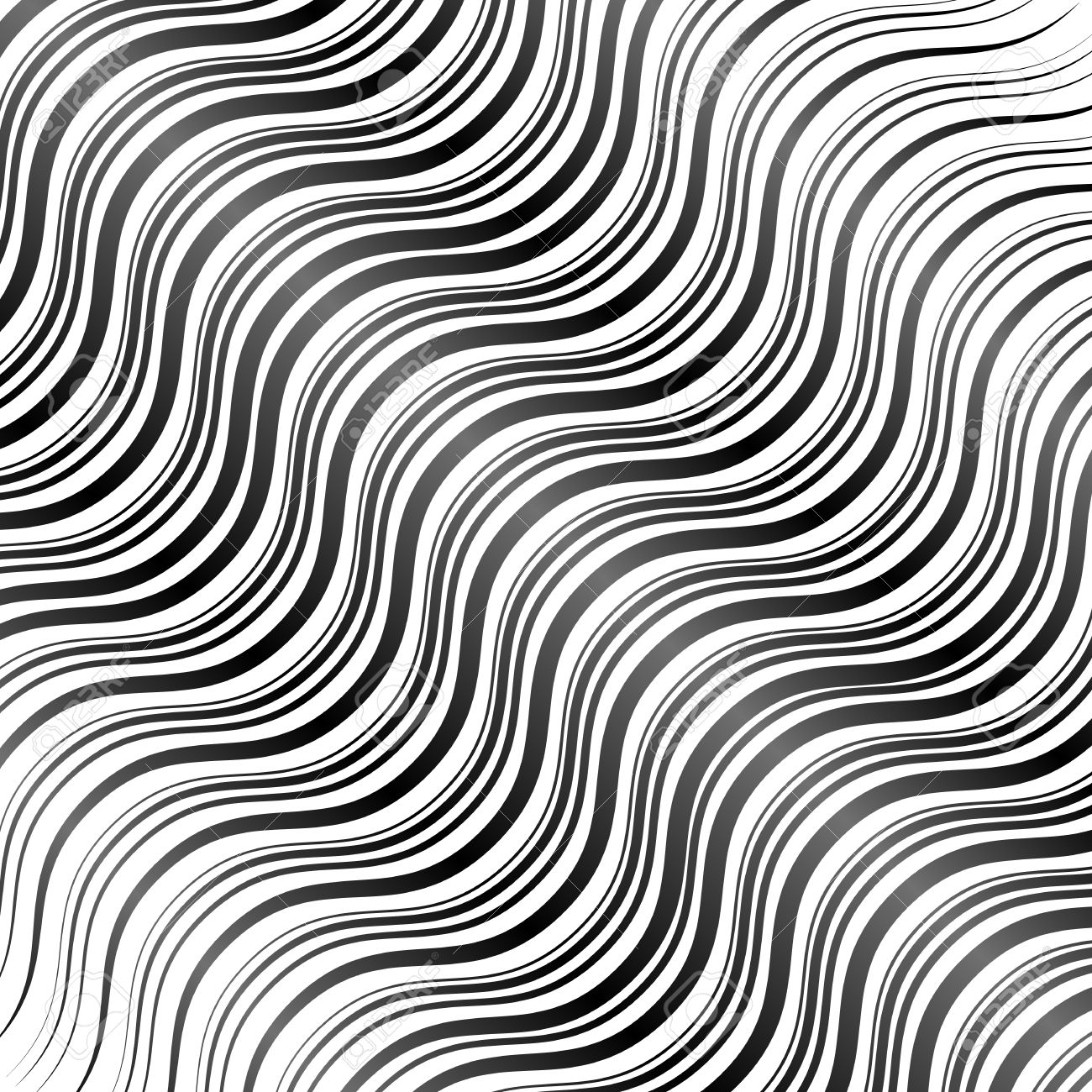 wavy line drawing at getdrawingscom free for personal
