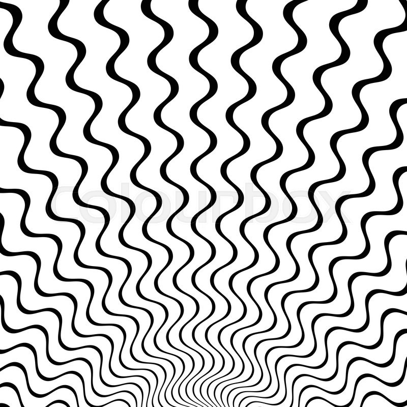 800x800 Abstract Starburst Background With Zigzag, Wavy Lines Stock