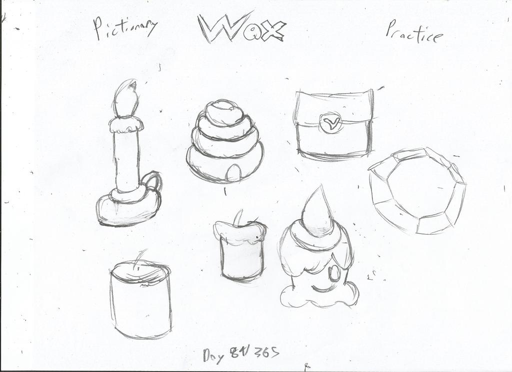 Wax Drawing