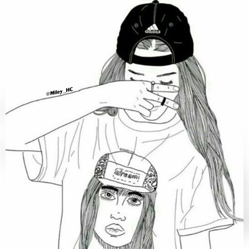 500x500 Black And White, Adidas And Outlines Image On We Heart It