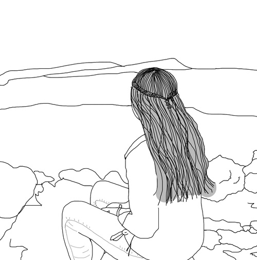 500x507 Image On We Heart It Drawings Overlaysoutlines