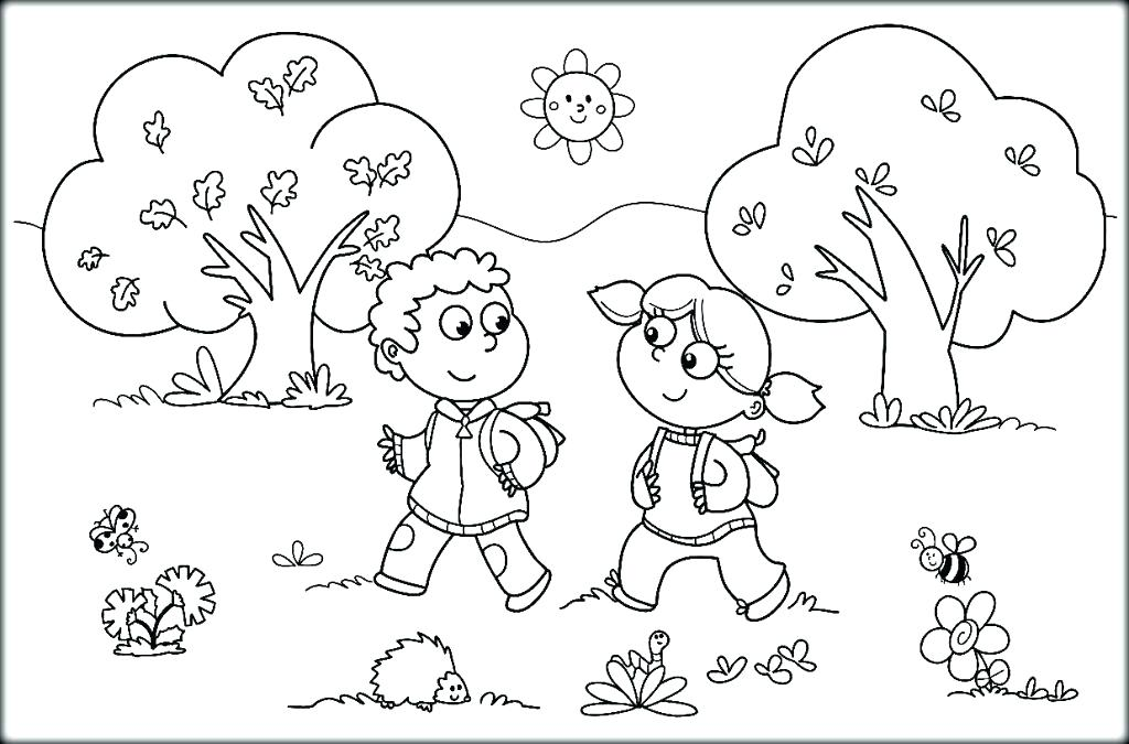 1024x675 Weather Coloring Sheets 4 Seasons Coloring Page Pages Weather