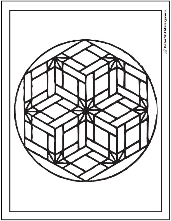 590x762 Basket Weave Coloring Short