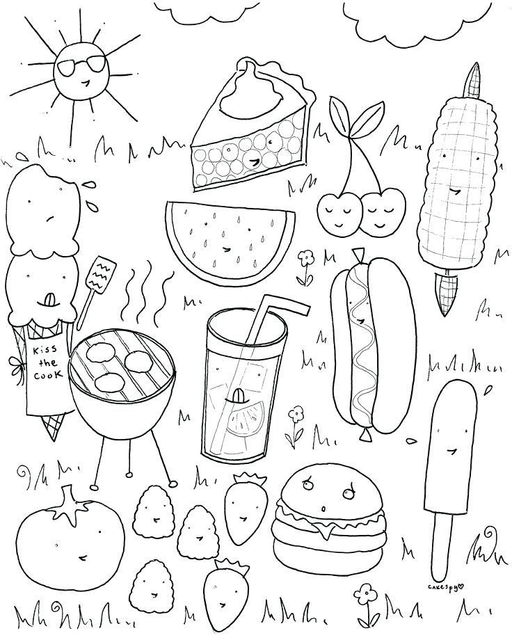 736x920 Food Web Coloring Pages Food Coloring Pages Red Free Page Food