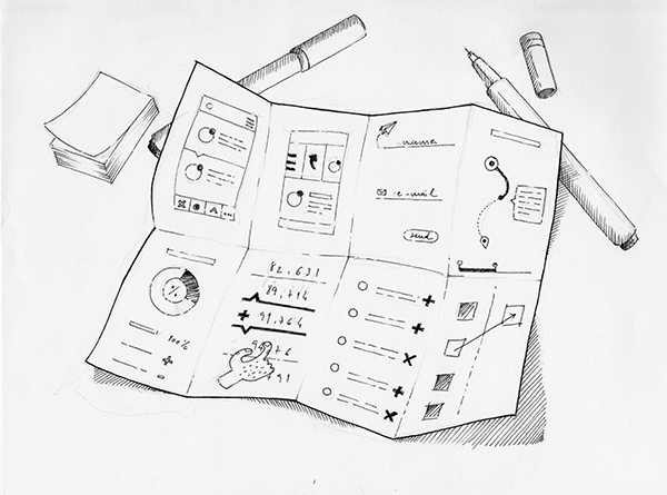 600x445 Web Designers Roll Up Your Sleeves And Sketch!