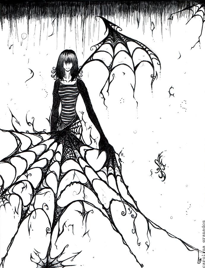 691x900 Spider Webs By Emblazedgreen