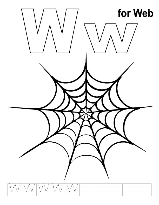 612x792 Web Coloring Pages 17033