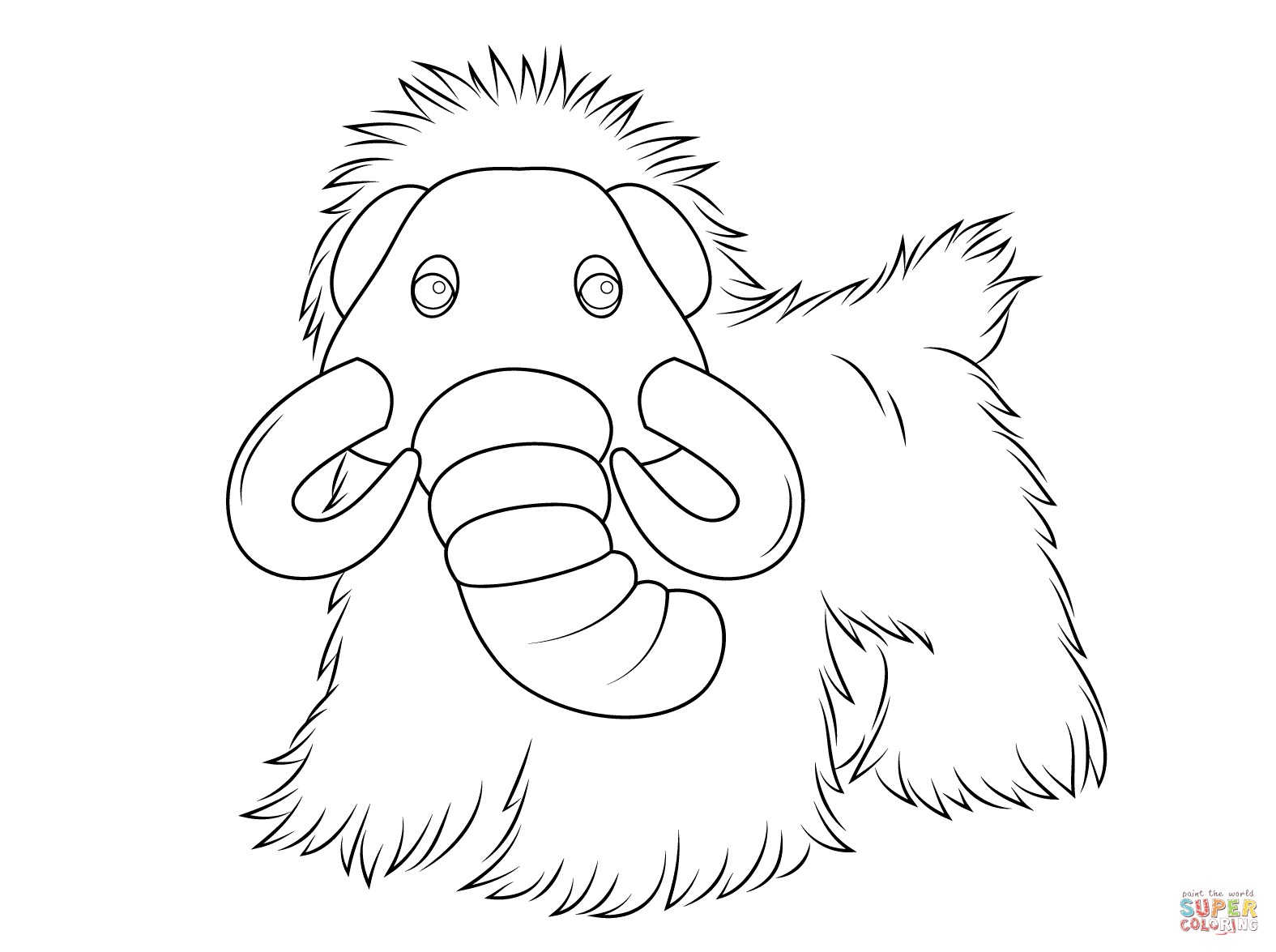 1575x1175 Webkinz Mammoth Coloring Page Free Printable Coloring Pages