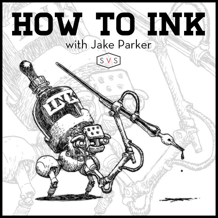 720x720 Inktober Mr Jake Parker