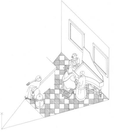 414x482 Vermeer's Tiles Chris Eckersley
