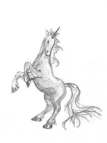 375x500 Unicorn Art Pencil Drawings Art Website By Juliansyah
