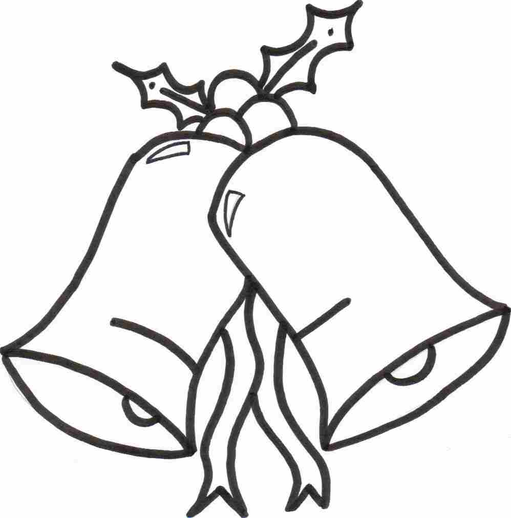 998x1011 Christmas Bell Christmas Ornament Drawing Merry Christmas