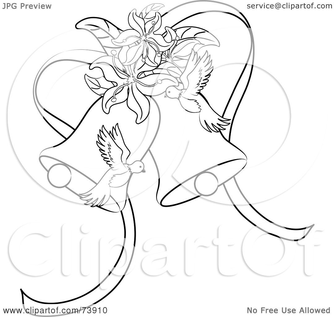 1080x1024 Royalty Free (Rf) Clipart Illustration Of Black And White Outline