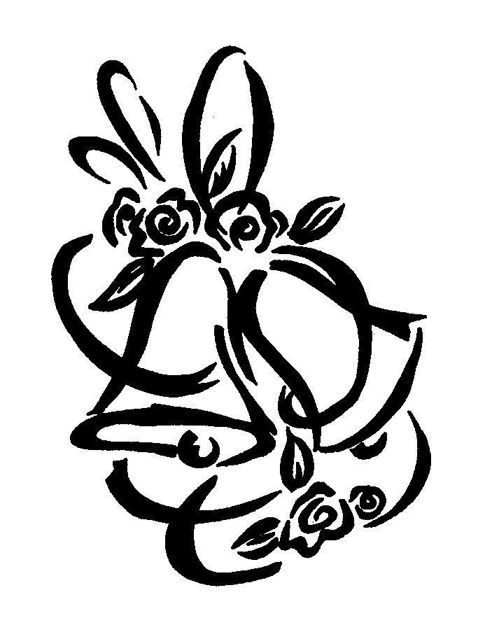 683x883 Wedding Bells Drawing Wedding Pictures Ideas