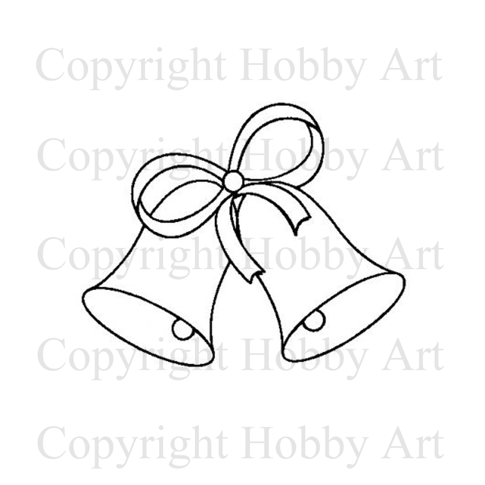1000x1000 Wedding Bells Small Weddings Rubber Stamps Products