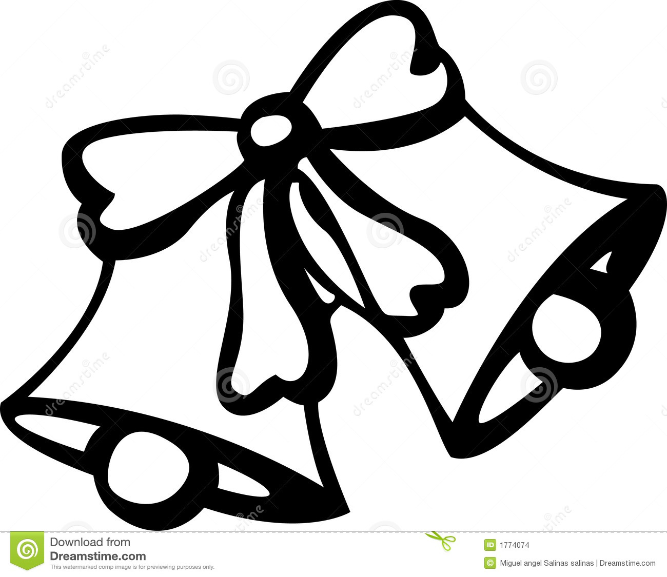 wedding bell drawing at getdrawings com free for personal use