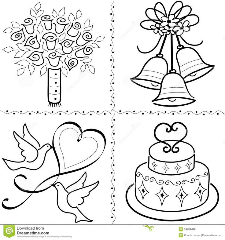 736x786 The Best Wedding Bells Clip Art Ideas On Flower