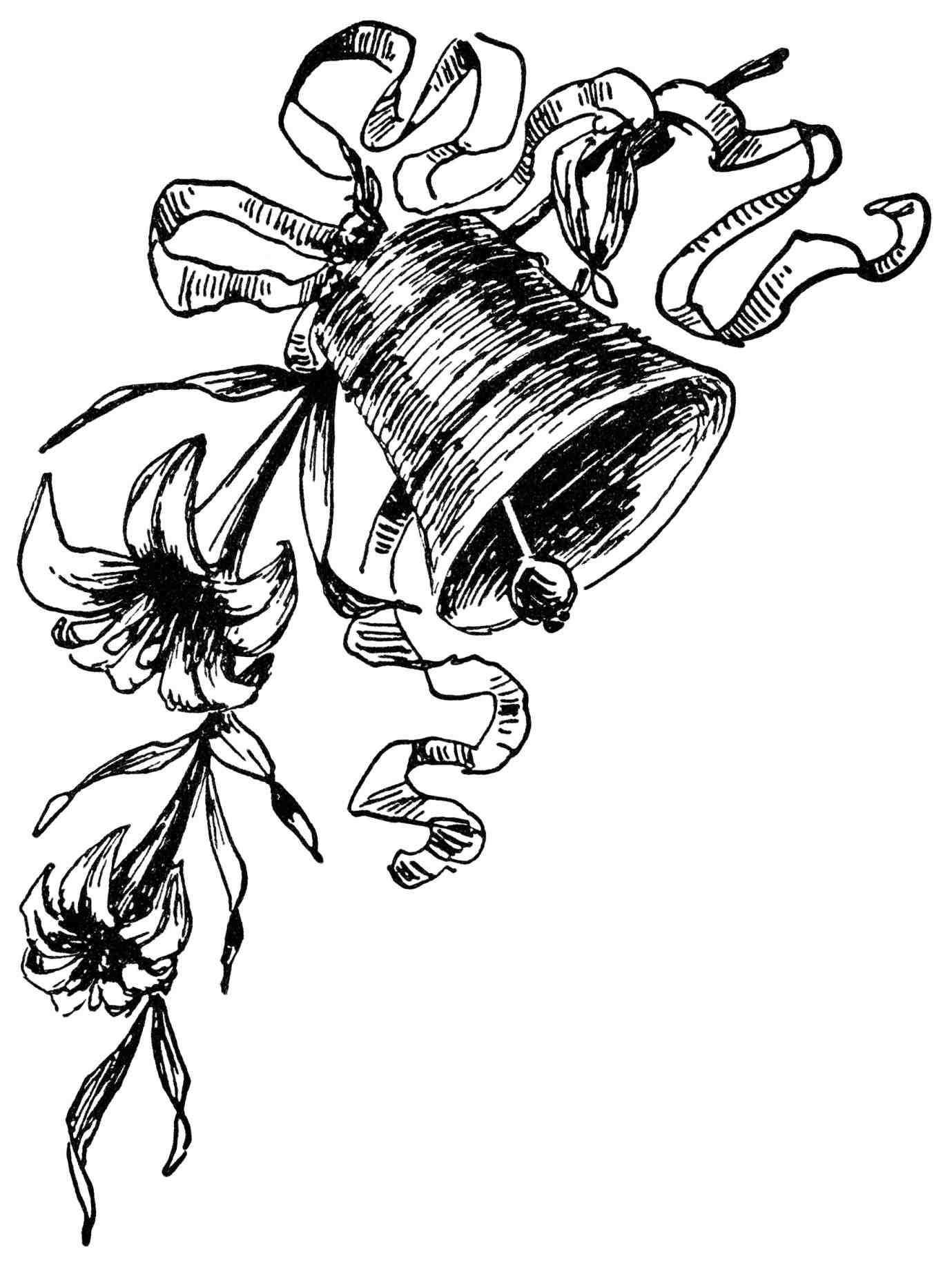 1379x1833 Bells Clip Art Christmas Silver Wedding Bells Clip Art Drawing