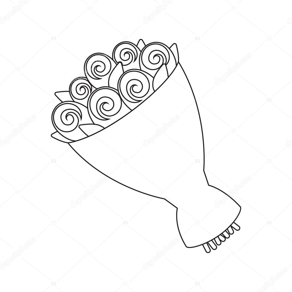 1024x1024 Wedding Bouquet Icon Of Vector Illustration For Web And Mobile