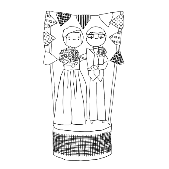 560x560 Custom Wedding Cake Toppers