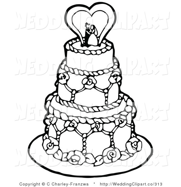 600x620 Wedding Cake