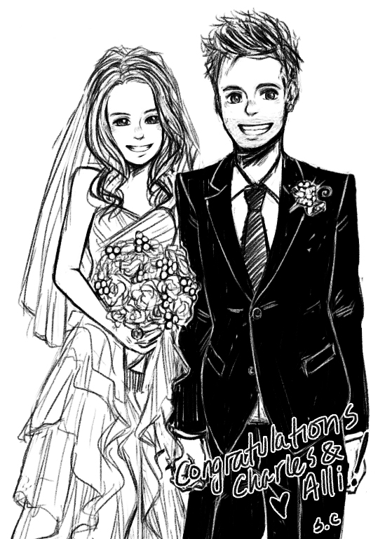 559x769 Ctfxc Wedding Photo Drawing Thing . By Dumplingzowo