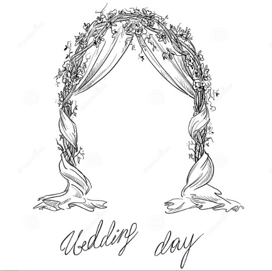 540x539 LINE BOTWIN wedding illustrations