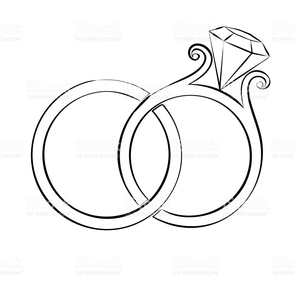 1024x1024 Wedding Ring Drawings Collection