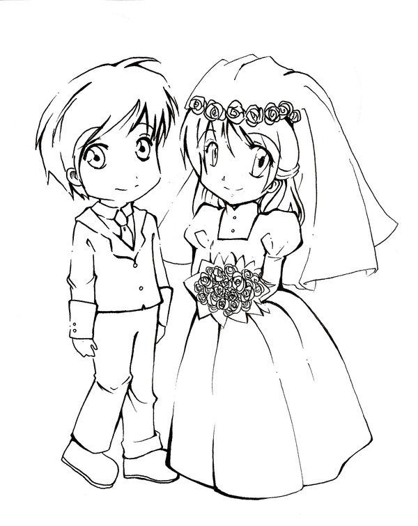 600x756 Chibi Wedding By Chus2
