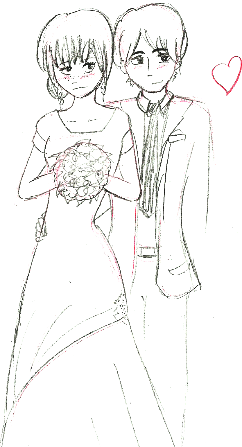 Wedding Drawing Pictures