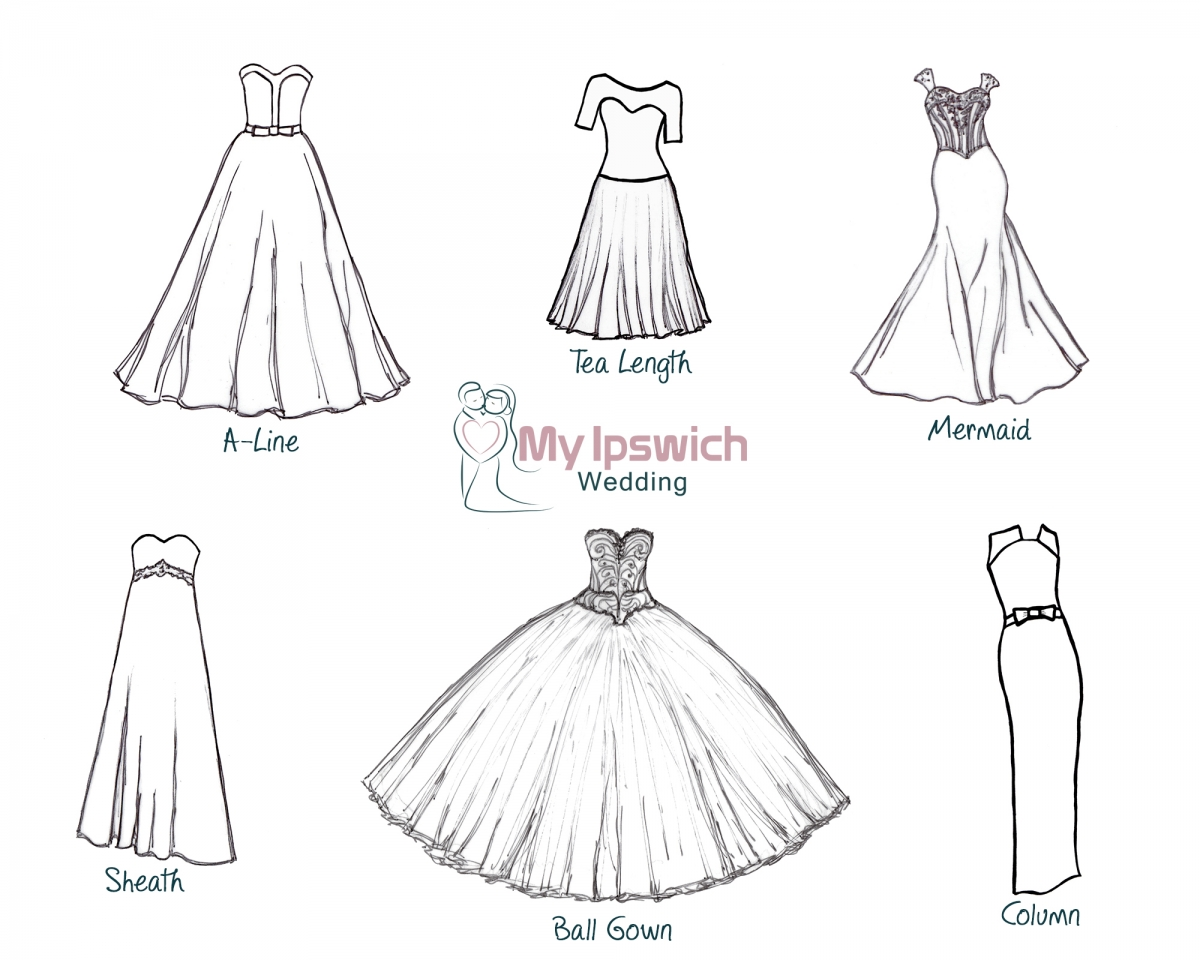 Wedding Dresses Drawing at GetDrawings.com | Free for personal use ...