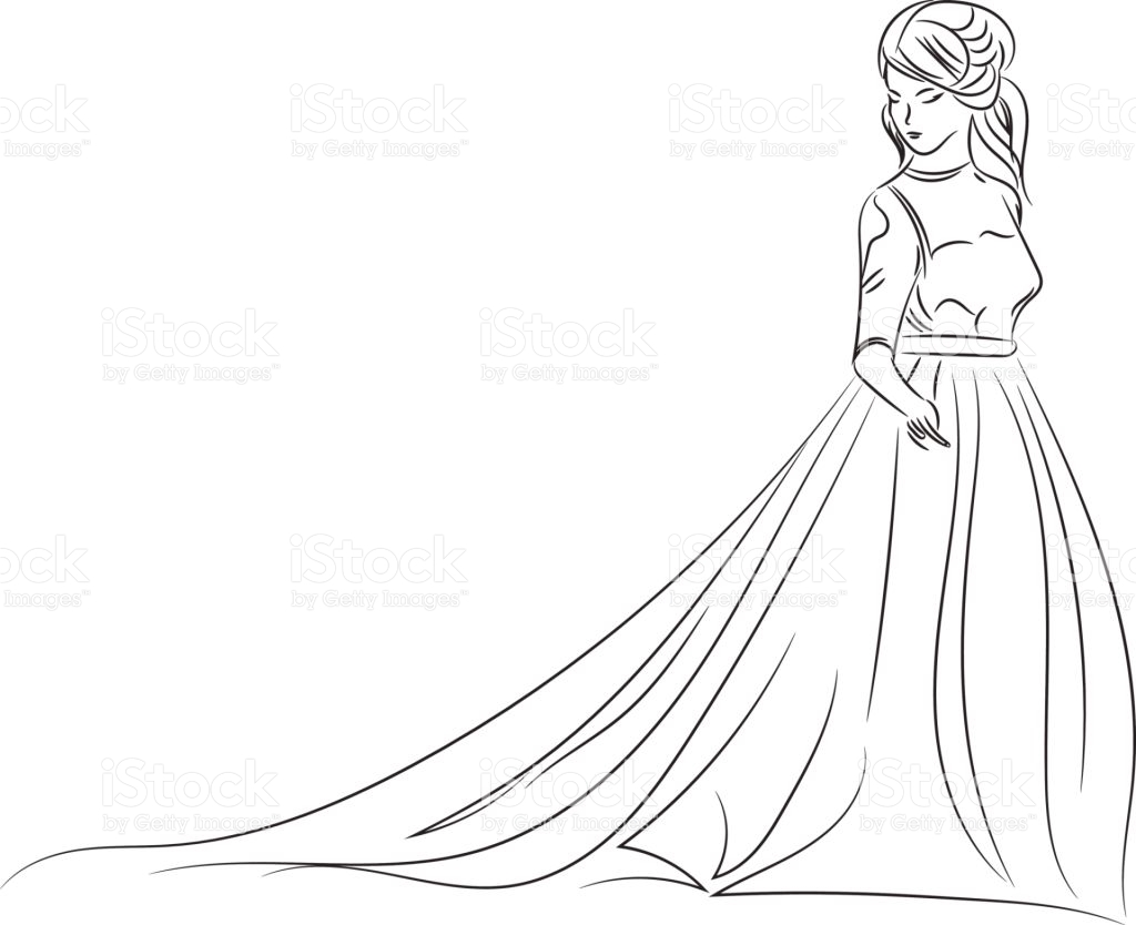 1024x834 Wedding Dresses Best Drawing Wedding Dress Picture Wedding Idea