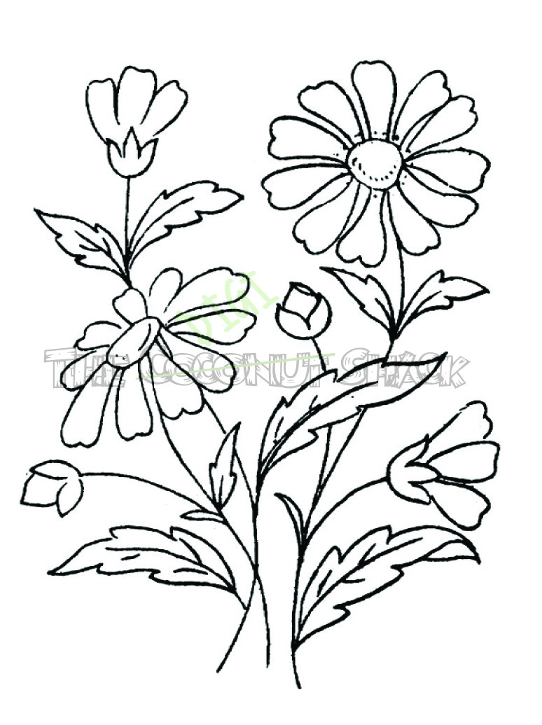 Wedding Flowers Drawing at GetDrawings.com | Free for personal use ...