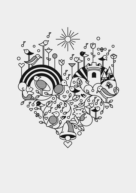 453x640 Gifto (Via Qbn) Wedding Invitation Illustration Cuteness Ideas