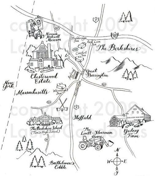 505x573 17 Best Hand Drawn Maps Images On Wedding Stuff