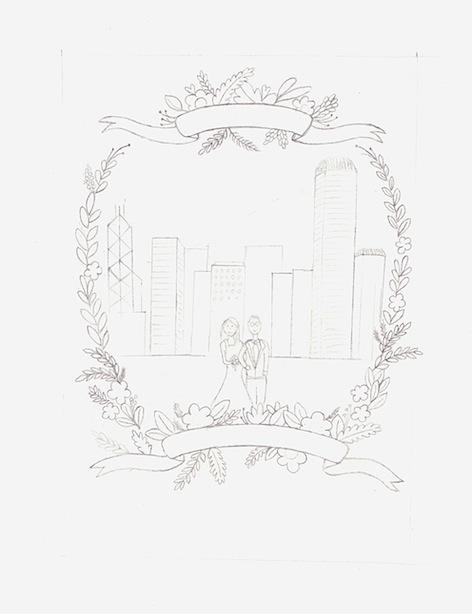 472x614 Kalo Make Art Bespoke Wedding Invitation Designs Sweet Hong Kong