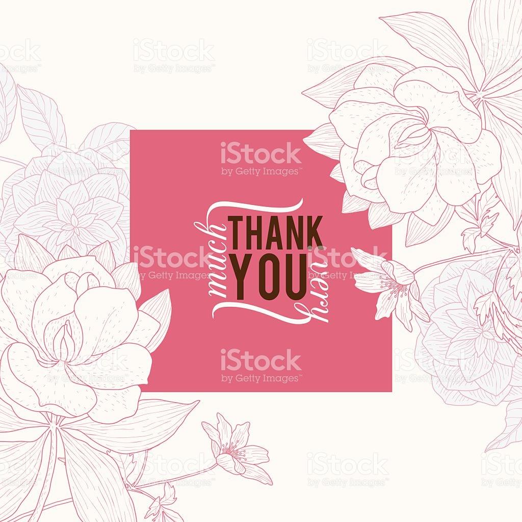 1024x1024 Vector Vintage Pink Square Frame Floral Drawing Wedding Invitation