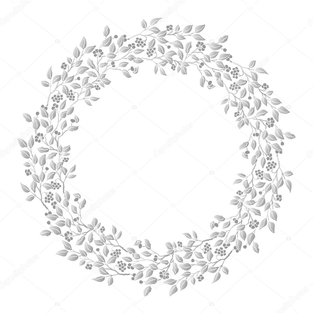 1024x1024 Circle Cute Hand Drawn Frames On The White Background. Love