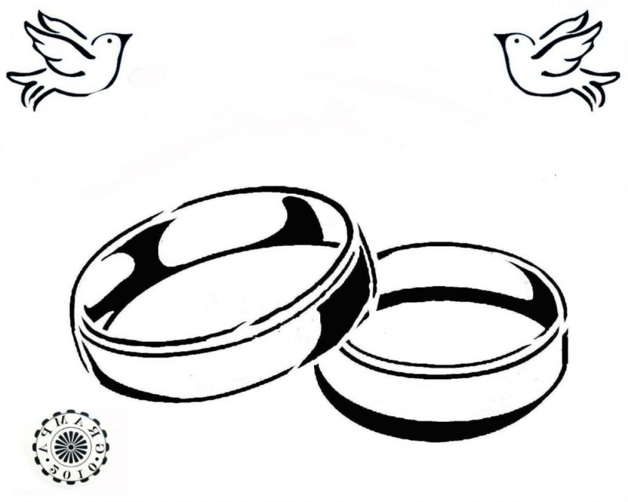 1228x982 Drawn Ring Marriage Ring Pencil And In Color Drawn Ring Marriage