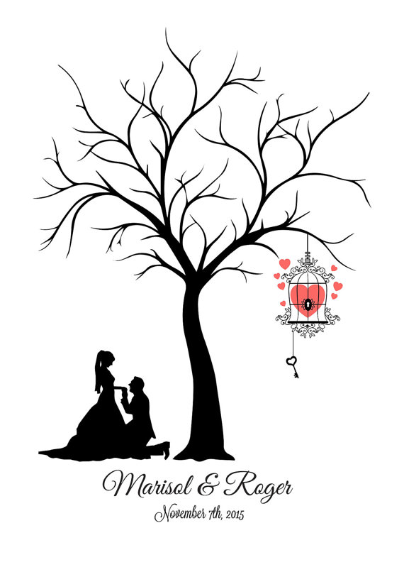 Wedding Tree Drawing at GetDrawings.com | Free for personal use ...