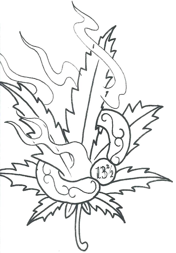 723x1037 Pot Leaf Coloring Pages Pot Leaf Coloring Page Weed Leaf Coloring