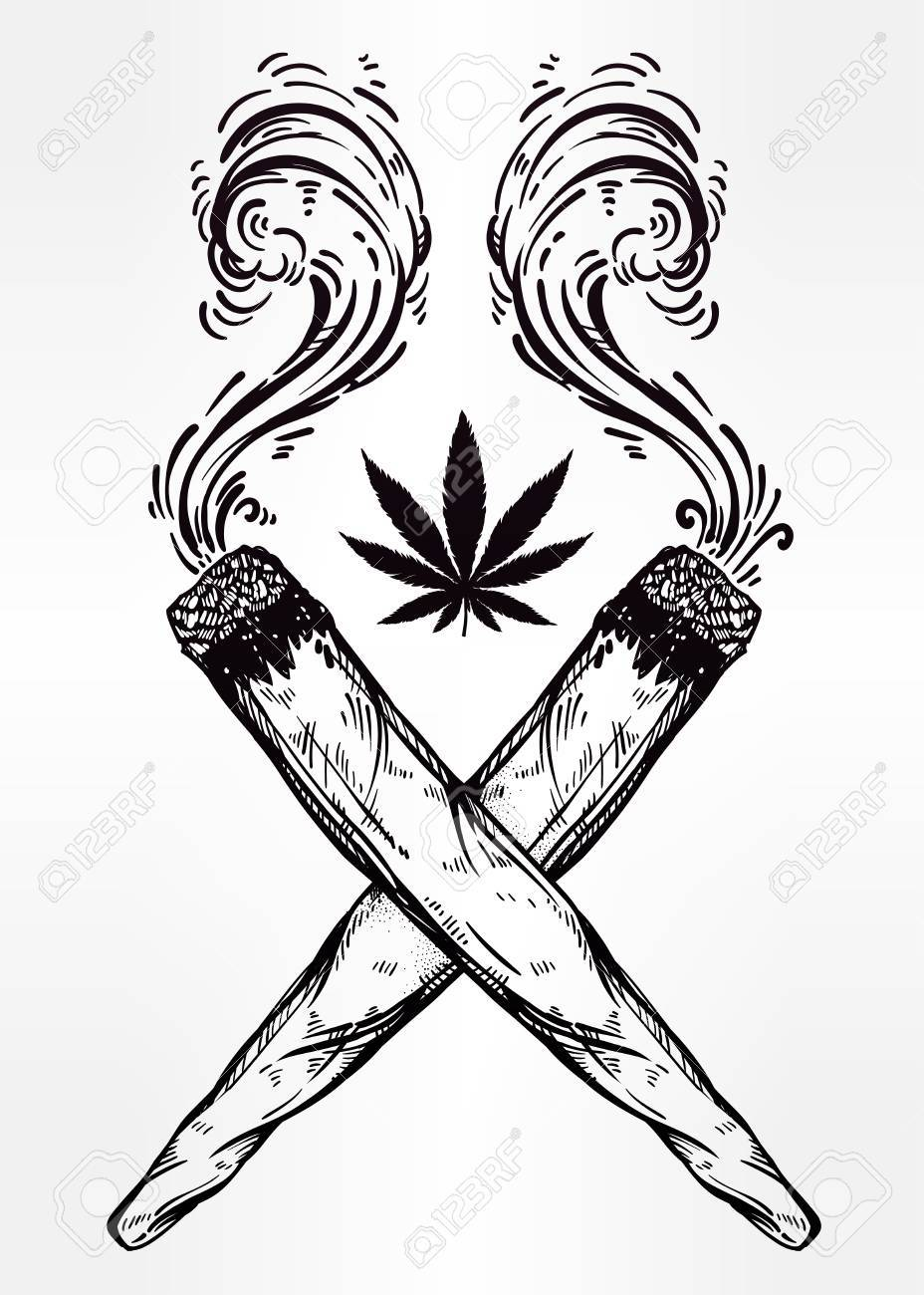 weed joint drawing at getdrawings com free for personal use weed