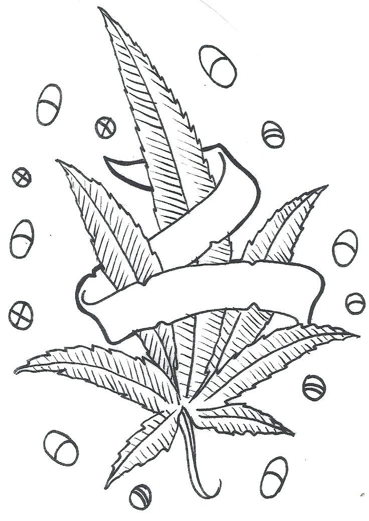 736x1040 Cannabis Coloring Book As Well As Hemp Cannabis Leaf In Style
