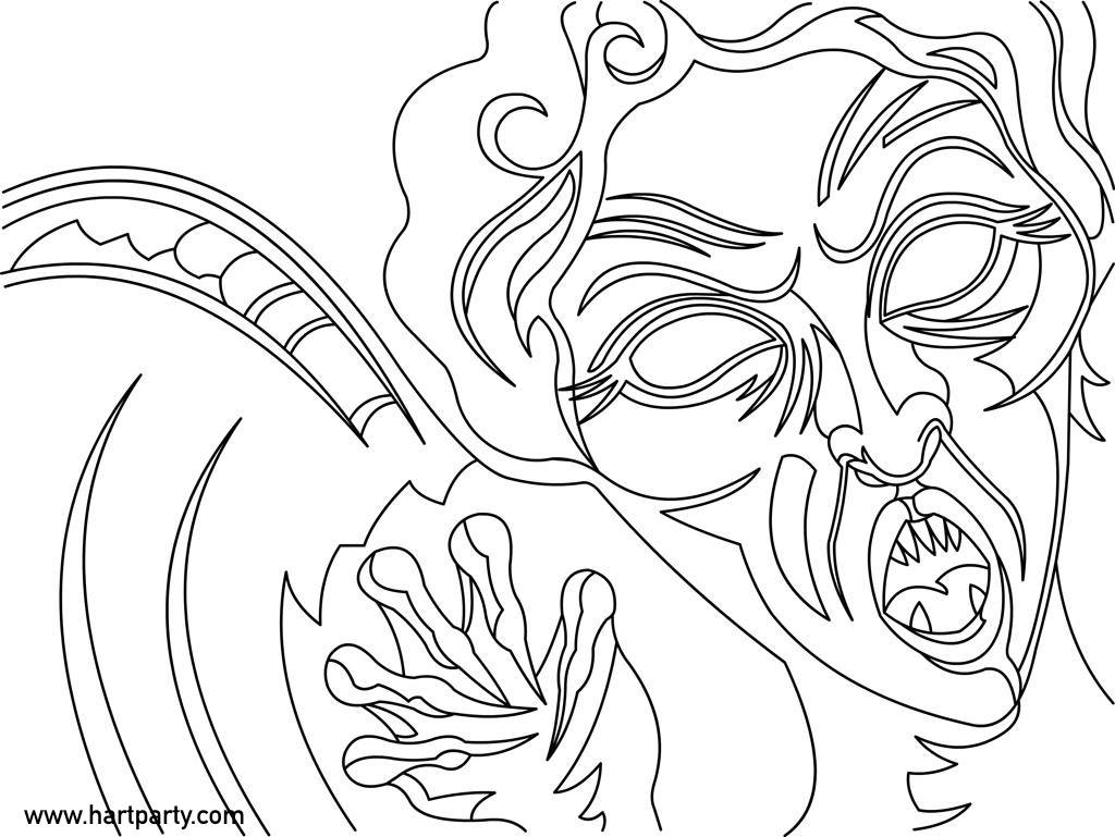 1024x769 Weeping Angel Coloring Page For Youtube For Hart Part Chuck Carson