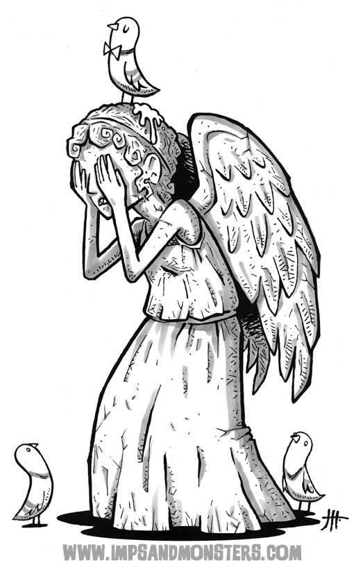 Weeping Angels Drawing