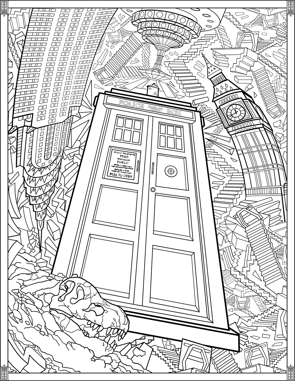 1000x1294 Doctor Who Coloring Pages Tardis Doctor Who Dalek Coloring Pages